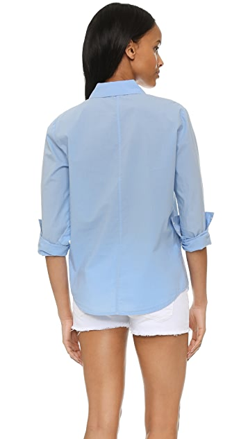 FRAME Le Classic Poplin Shirt