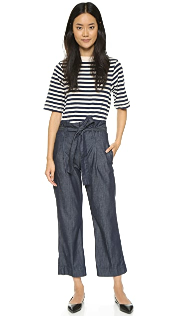 FRAME The Principle Paper Bag Trouser Jeans
