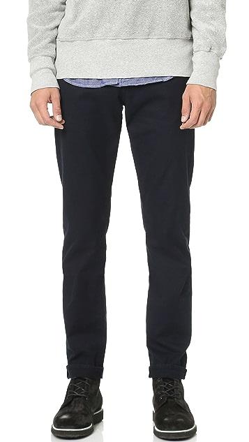 FRAME L'Homme Straight Leg Twill Jeans