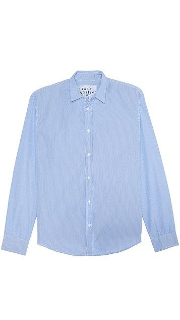 Frank & Eileen Narrow Stripe Sport Shirt
