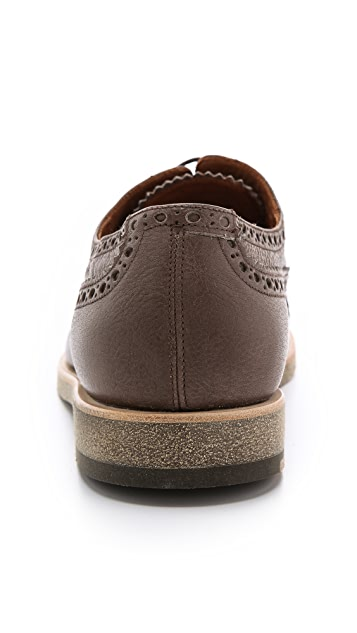 Fratelli Rossetti Nappa Derby Cap Toes