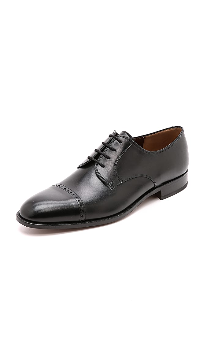 premium selection 4b963 5aaf0 Fratelli Rossetti Cap Toe Derby Shoes | EAST DANE