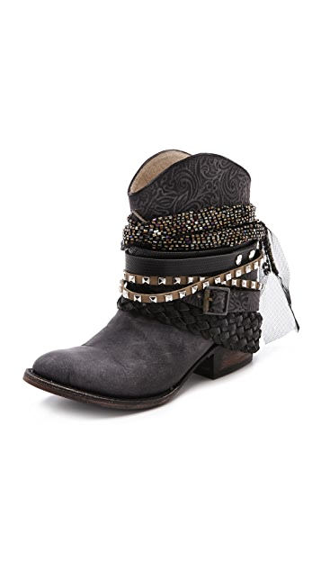 FREEBIRD by Steven Mezcal Wraparound Booties