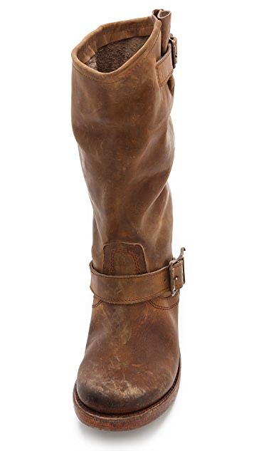 FREEBIRD by Steven Crosby Flat Buckle Boots
