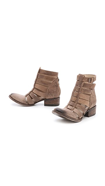 FREEBIRD by Steven Stone Cutout Booties