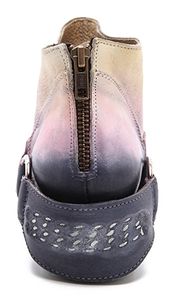 FREEBIRD by Steven California Dipped Harness Booties