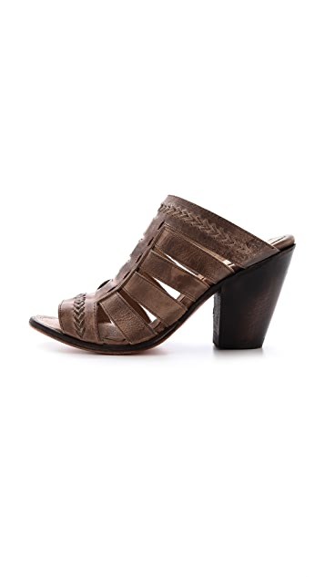FREEBIRD by Steven Vulture Open Toe Mules