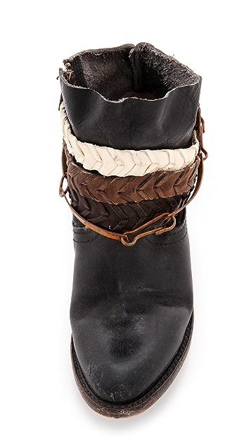 FREEBIRD by Steven Endy Harness Short Boots