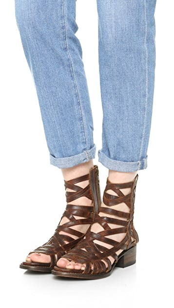 FREEBIRD by Steven Queen Cutout Booties