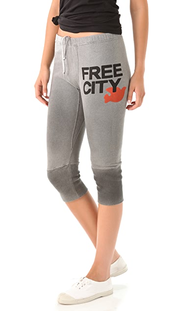 FREECITY FREECITY 3 4 Sweatpants  5caba7da3243