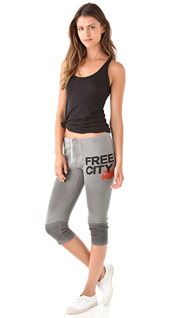 FREECITY FREECITY 3/4 Sweatpants