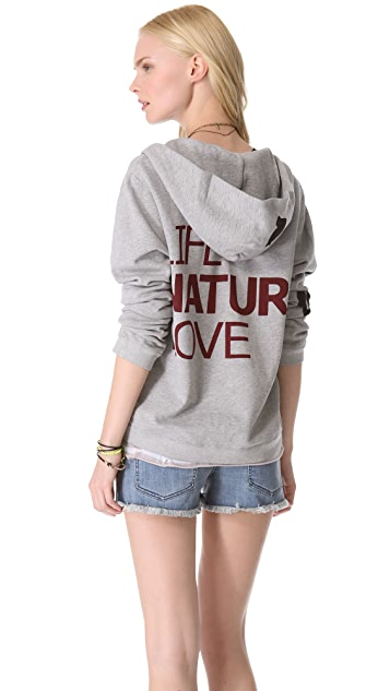 FREECITY Life Nature Love Zip Hoodie