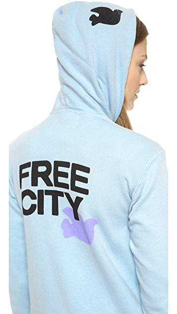 FREECITY Lets Go Zip Up Hoodie