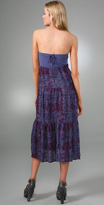 Free People Medallion Print Long Skirt / Dress