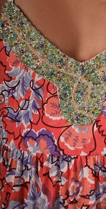 Free People Tiered Jeweled Dress