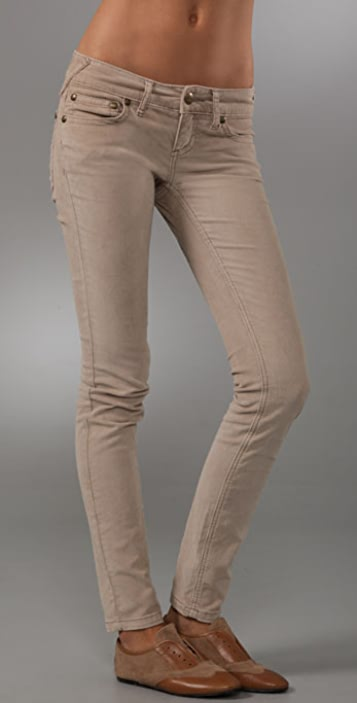 Free People Super Skinny 5 Pocket Corduroy Pants