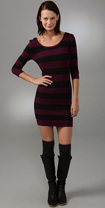 Free People We the Free Striped Sweater Dress