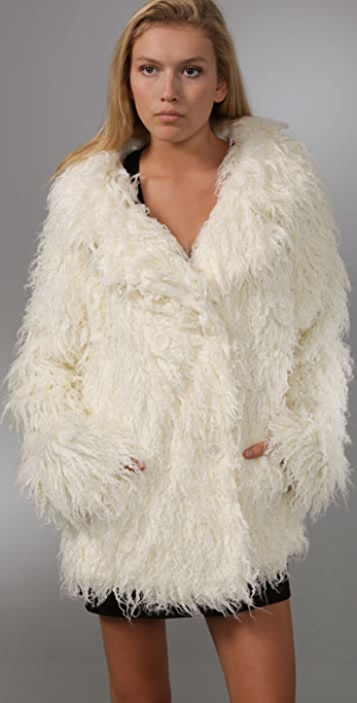 Free People Almost Famous Fur Jacket