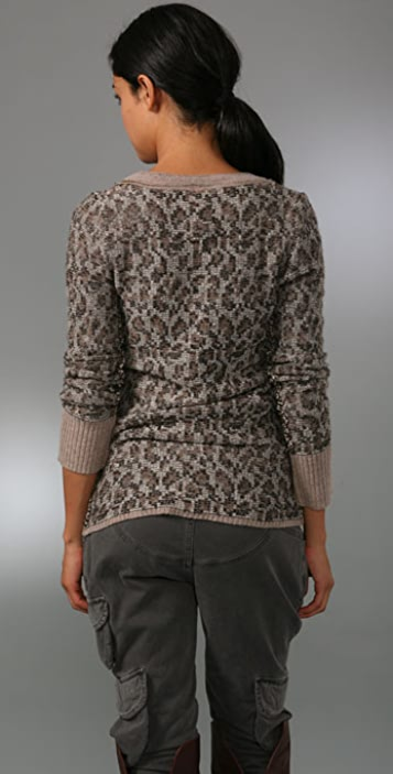 Free People Kitty Cat Cardigan