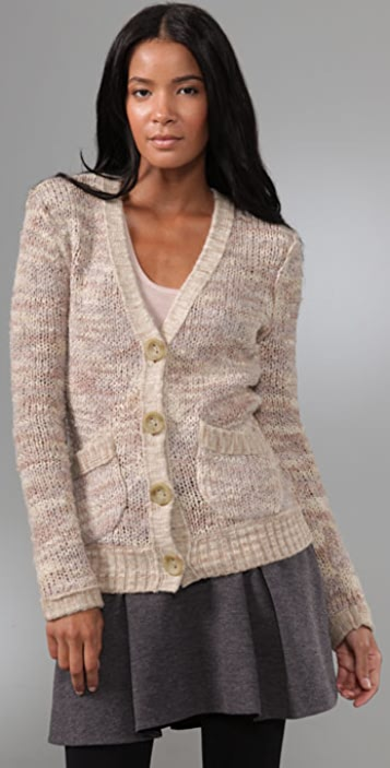 Free People Poofs Cardigan