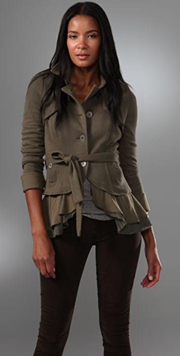 Free People In the Trenches Knit Jacket