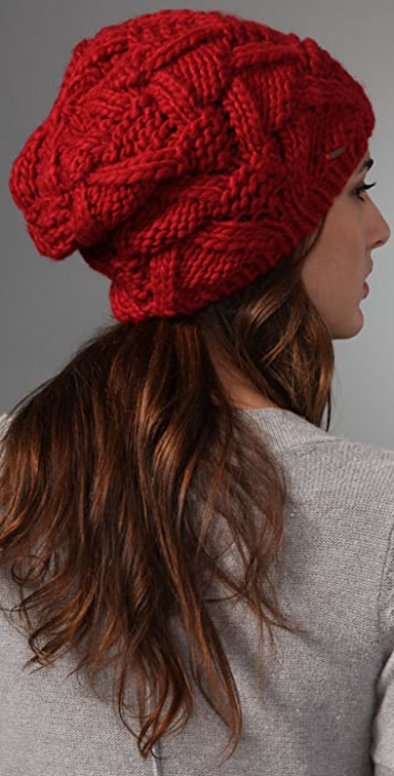 Free People Cable Beanie