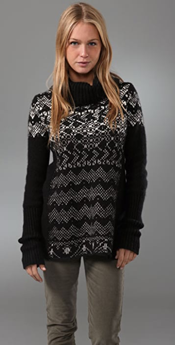 Free People Fireside Pullover Sweater