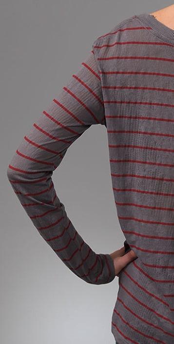 Free People We The Free Stripe Vacancy Tee