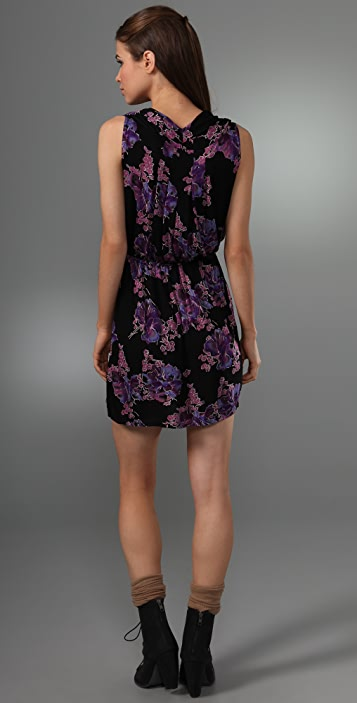 Free People Floral Muscle Tunic