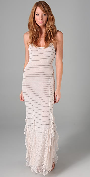Free People Striped Maxi Dress