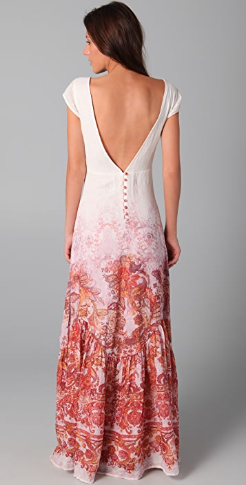 Free People Paisley Maxi Dress