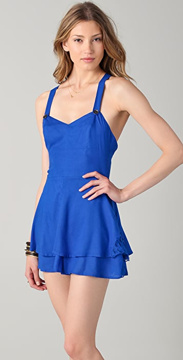 Free People Summer's Day Romper