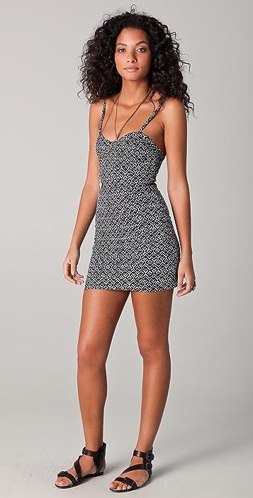 Free People Twist N Shout Mini Dress