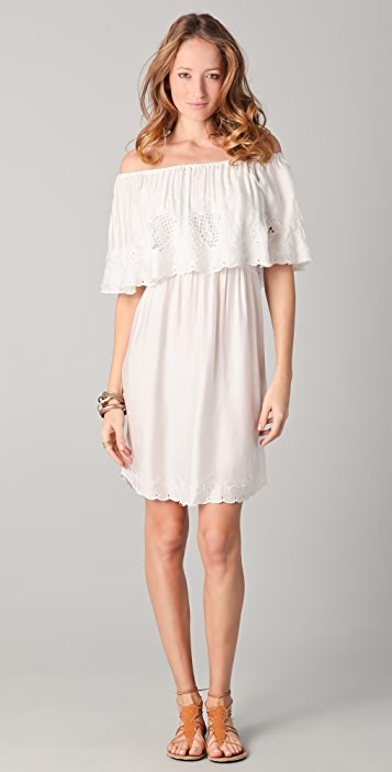 Free People Cutwork Dream Dress