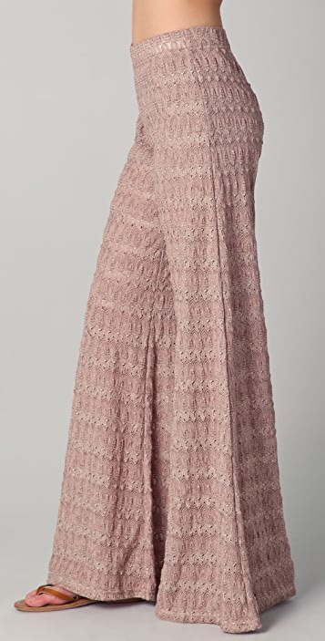 Free People Extreme Knit Flare Pants