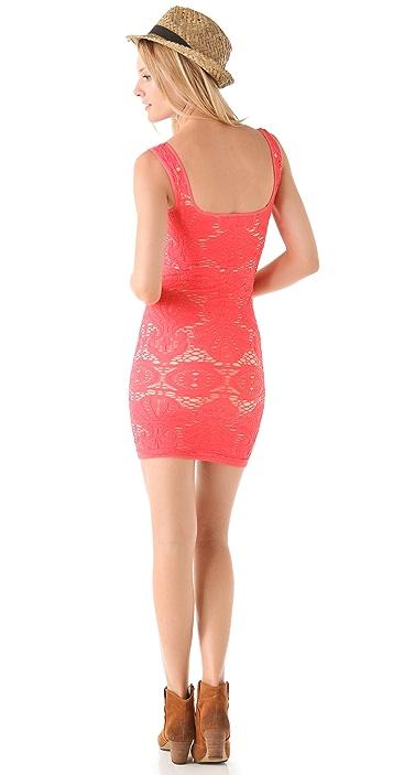 Free People Seamless Sweetheart Slip Dress