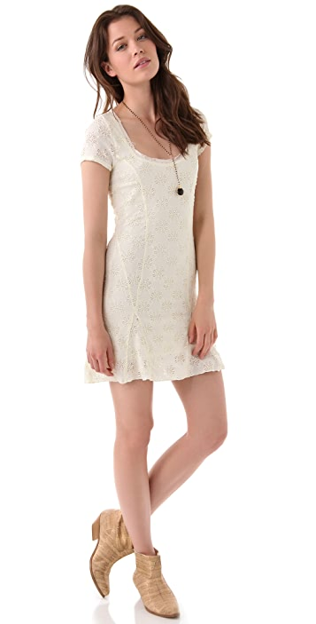 Free People Daisy Godet Dress