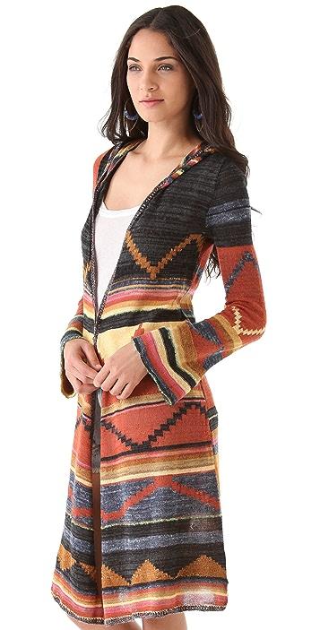 Free People Pueblo Yarn Lima Cardigan