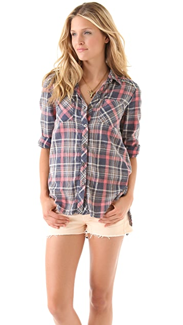 Free People Park Ranger Button Up