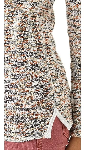 Free People Boston Jersey Sweater Top