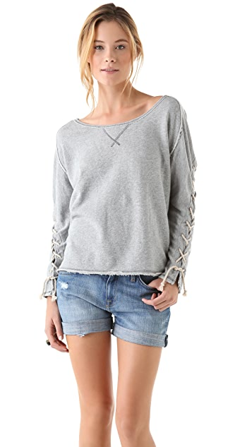 Free People Out to Sea Pullover