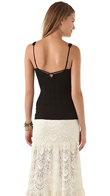 Free People Seamless Chevron Camisole