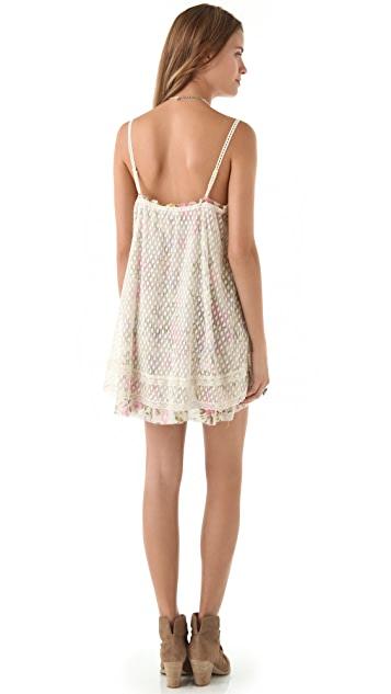 Free People Point d'Esprit Slip Dress