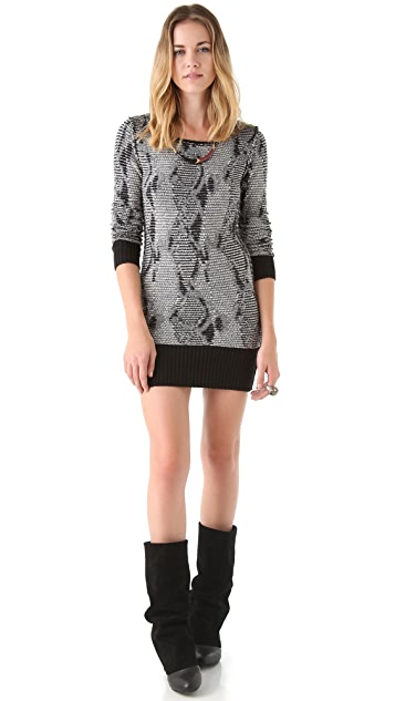 Free People Serpent Trails Tunic Dress