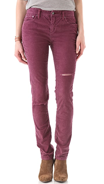 Free People Hi Rise Corduroy Pants