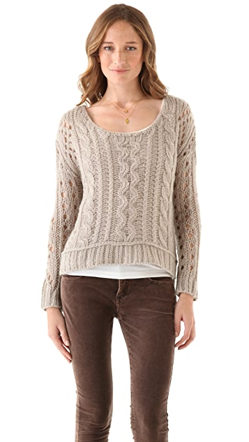 Free People Fluff Sweater