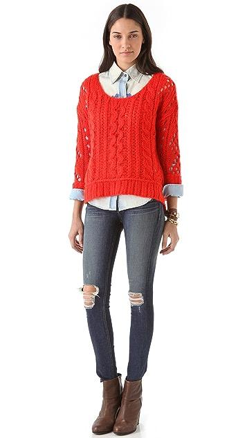 Free People Fluff Sweater