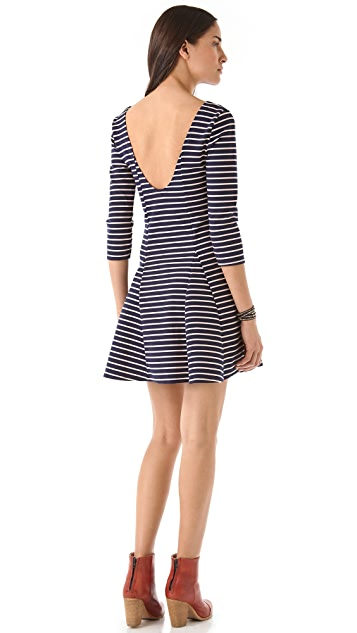 Free People Nautical & Knotty Dress