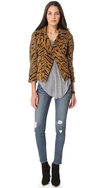 Free People Cats Meow Jacket