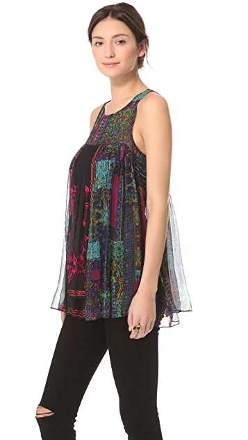 Free People New Romantics Journey Top
